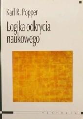 Okładka książki Logika odkrycia naukowego Karl Popper