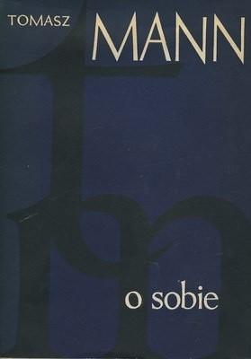 Okładka książki O sobie Thomas Mann