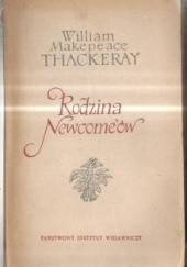 Okładka książki Rodzina Newcomeów tom 2 William Makepeace Thackeray