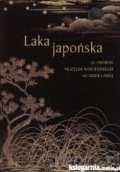 Okładka książki Laka japońska ze zbiorów Muzeum Narodowego we Wrocławiu Dorota Róż-Mielecka