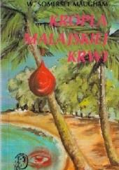 Okładka książki Kropla malajskiej krwi