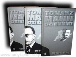 Okładka książki Dzienniki 1918-1921 1933-1934 1935-1936 Thomas Mann