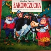Okładka książki Łakomczucha Wiesław Drabik