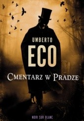 Okładka książki Cmentarz w Pradze Umberto Eco