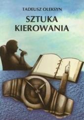 Okładka książki Sztuka kierowania Tadeusz Oleksyn