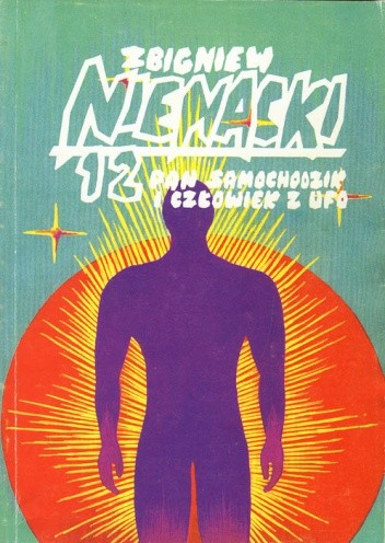Okładka książki Pan Samochodzik i człowiek z UFO Zbigniew Nienacki