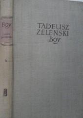 Okładka książki Szkice literackie Tadeusz Boy-Żeleński