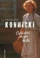 Okładka książki Ostatni dzień lata Tadeusz Konwicki