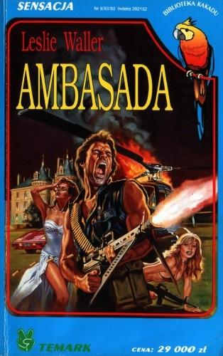 Okładka książki Ambasada Leslie Waller