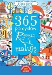 Okładka książki 365 pomysłów Rysuję i maluję
