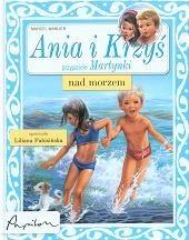 Okładka książki Ania i Krzyś nad morzem Marcel Marlier
