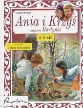 Okładka książki Ania i Krzyś w lesie Marcel Marlier