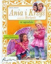 Okładka książki Ania i Krzyś w ogrodzie Marcel Marlier
