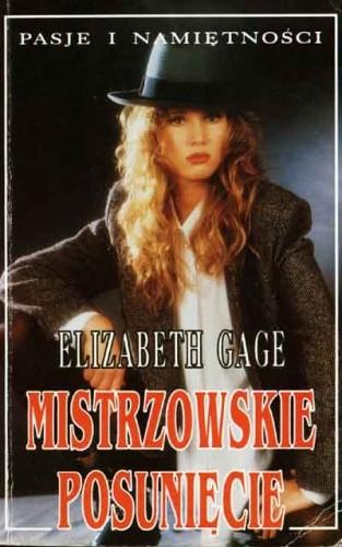 Okładka książki Mistrzowskie posunięcie Elizabeth Gage