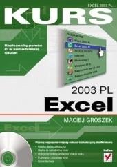 Okładka książki Excel 2003 PL Maciej Groszek