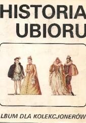 Okładka książki Historia ubioru Ewa Borowska,Halina Lewakowa