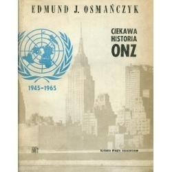 Okładka książki Ciekawa historia ONZ