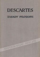 Okładka książki Zasady filozofii Kartezjusz