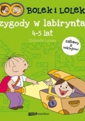 Okładka książki Bolek i Lolek. Przygody w labiryntach Elżbieta Lekan