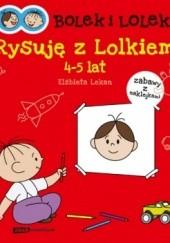 Okładka książki Bolek i Lolek. Rysuję z Lolkiem Elżbieta Lekan