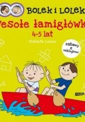 Okładka książki Bolek i Lolek. Wesołe łamigłówki Elżbieta Lekan