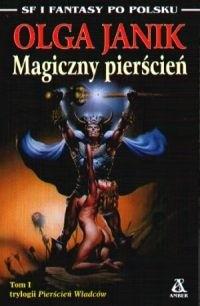 Okładka książki Magiczny pierścień Olga Janik
