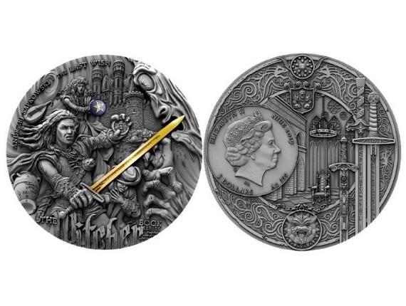 Wiedźmin na kolekcjonerskiej monecie