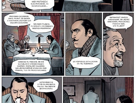 Wygraj komiksowe adaptacje Agathy Christie