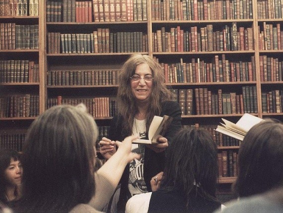 Patti Smith pomogła obrabowanej księgarni w Portland