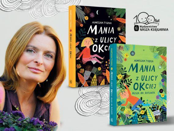 """""""Każda książka zabiera mnie w podróż"""" – mówi Agnieszka Tyszka"""