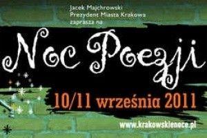 Noc Poezji w Krakowie