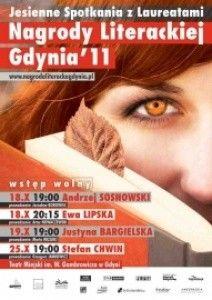 Jesienne spotkania z laureatami Nagrody Literackiej Gdynia 2011