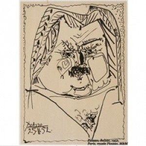Pablo Picasso i ilustracje do opowiadania Balzaka