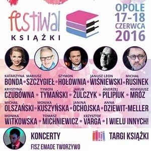 Już za tydzień Festiwal Książki Opole 2016