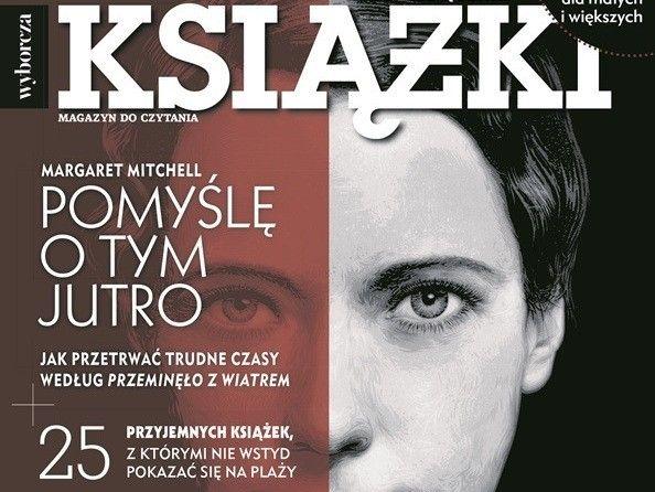 """Wakacyjny numer magazynu """"Książki. Magazyn do czytania"""" od jutra w kioskach"""