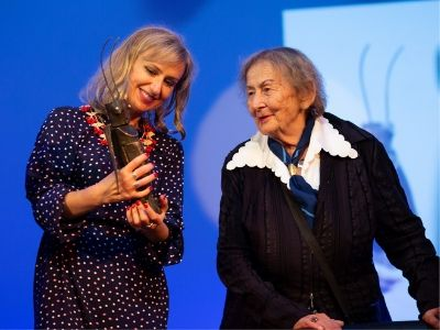 Zakończył się Festiwal Stolica Języka Polskiego. Nagroda Człowieka Słowa dla Urszuli Kozioł