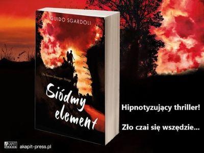 """""""Siódmy element"""" od dziś w księgarniach"""