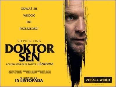 """""""Doktor Sen"""" budzi duchy przeszłości. Nowy film na podstawie powieści Stephena Kinga"""