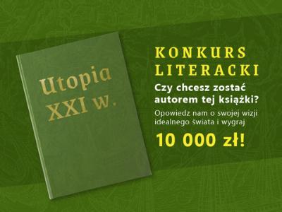 """Przeczytaj książki, weź udział w konkursie """"Projekt Utopia"""" i zmień świat!"""