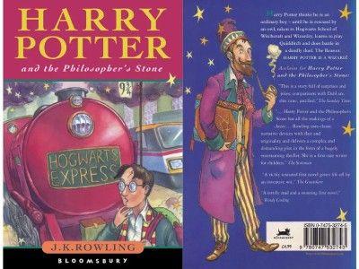 """Pierwsze wydanie książki """"Harry Potter i Kamień Filozoficzny"""" odnalezione w bibliotece w Londynie"""