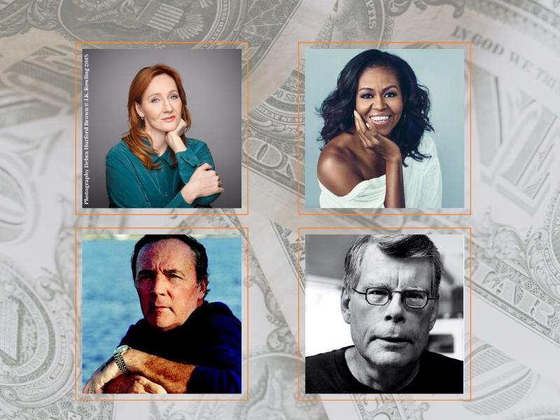 Najlepiej zarabiający pisarze 2019 roku. W pierwszej piątce przetasowanie i nowe nazwisko