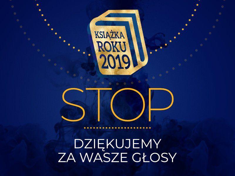Stop! Koniec głosowania w Plebiscycie Książka Roku 2019
