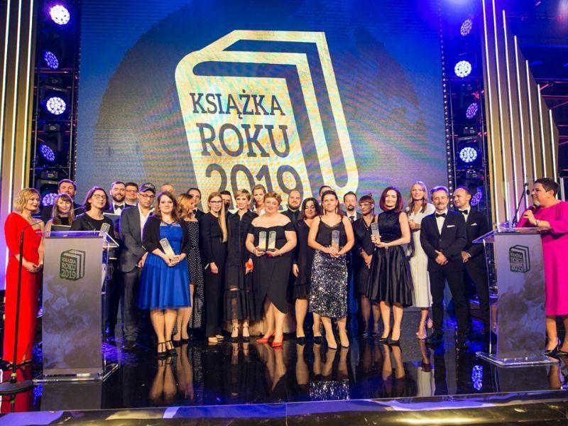 """Relacja z Gali Plebiscytu Książka Roku 2019 oraz """"Weekendu z książką"""""""