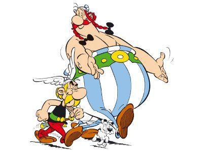 """René Goscinny i Albert Uderzo, legendarni ojcowie komiksowego """"Asteriksa"""""""