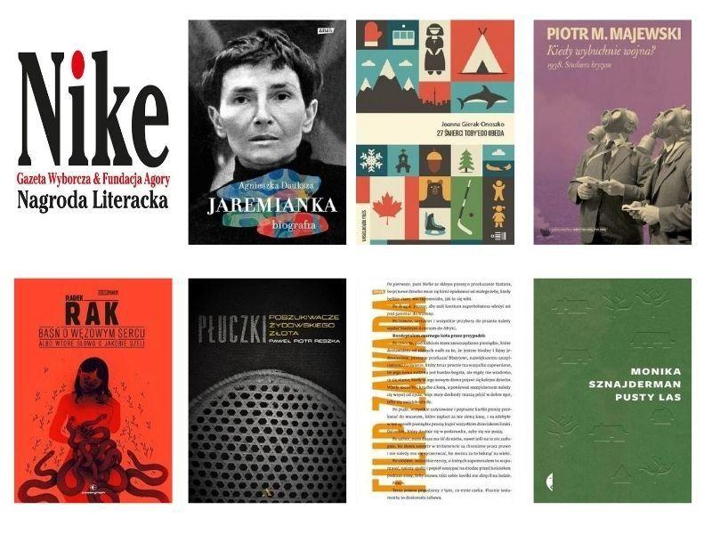 Nominacje do Nagrody Literackiej Nike 2020: literatura faktu, eseje i… baśń fantastyczna
