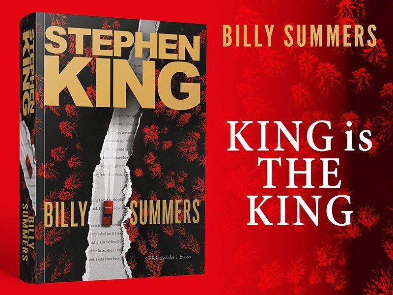 """Samotność zabójcy — najnowsza powieść Stephena Kinga """"Billy Summers"""""""