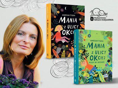 """Artykuł """"Każda książka zabiera mnie w podróż"""" – mówi pisarka Agnieszka Tyszka"""