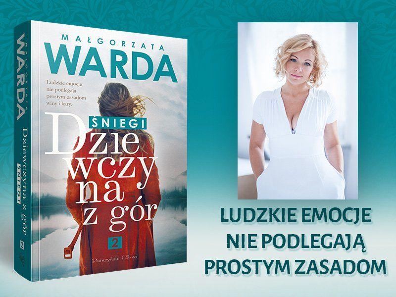 """Małgorzata Warda o cyklu """"Dziewczyna z gór"""""""