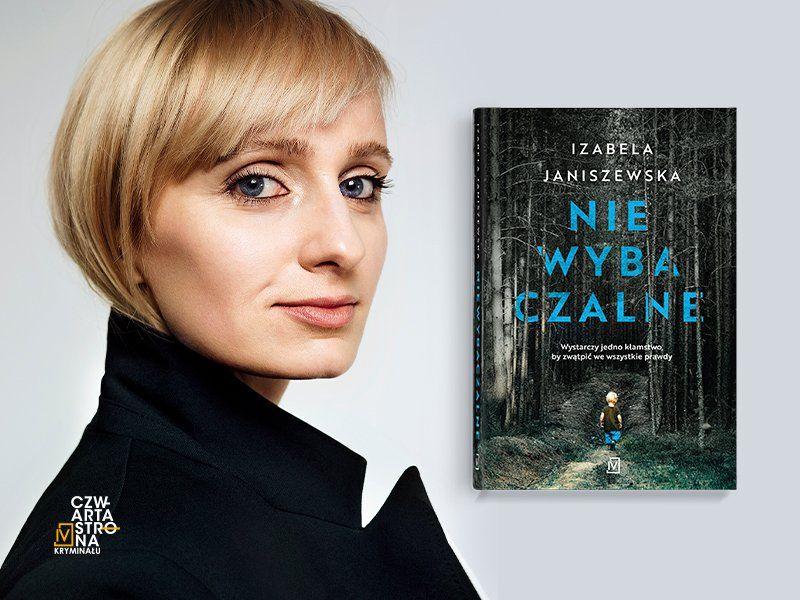 """""""To prawdę muszę odreagowywać, fikcji nie"""" – mówi Izabela Janiszewska"""